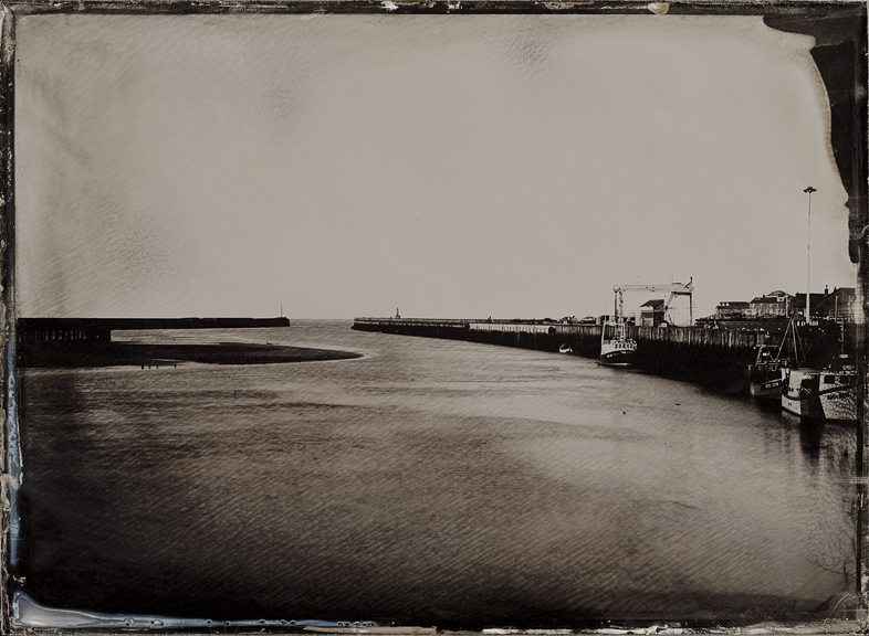 Half Plate Ambrotype by Jack Lowe, wet plate collodion